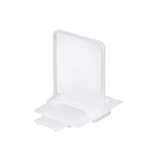 小禮堂 Inomata 日本製 抽屜專用收納隔板 8cm (透明款) 4905596-46368