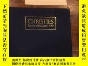 二手書博民逛書店Christie s罕見Review of the season