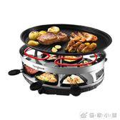 烤網 電烤爐家用無煙燒烤爐 韓式不粘電烤盤雙層鐵板燒烤肉機220v YXS 優家小鋪