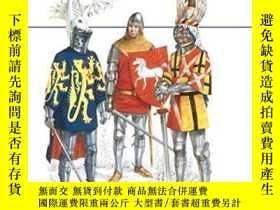 二手書博民逛書店Medieval罕見Heraldry-中世紀紋章學Y436638 Terence Wise Osprey Pu