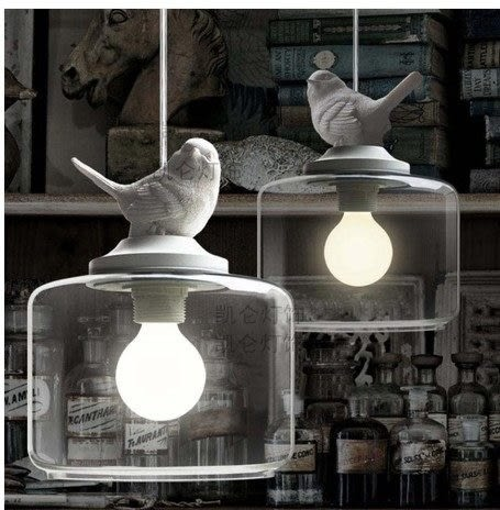 設計師美術精品館現代簡約複古餐廳酒吧台北歐美式鄉村田園憤怒小鳥吊燈特價