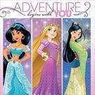 迪士尼 餐具 紙巾16入-迪士尼公主
