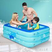 家庭充氣游泳池 寶寶成人家用海洋球池 加厚超大號洗澡戲水池 zh3999【優品良鋪】