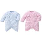 Baby City 娃娃城 天絲棉長袖初生兔裝-點點(藍色/粉色)BB80012104[衛立兒生活館]