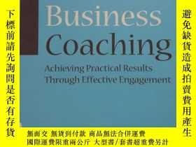 二手書博民逛書店Business罕見Coaching : Achieving P