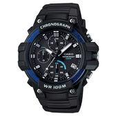 CASIO 多功能計時運動腕錶-MCW-110H-2AVDF