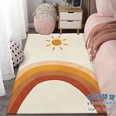 臥室地毯 地毯臥室房間滿鋪床邊毯輕奢網紅ins風客廳榻榻米大面積家用地墊【快速出貨】