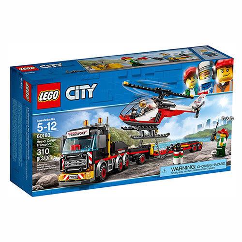 樂高積木 LEGO《 LT60183 》City 城市系列 - 重貨運輸車 ╭★ JOYBUS 玩具百貨