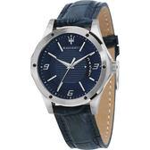 ★MASERATI WATCH★-瑪莎拉蒂手錶-皮錶帶-R8851127003-錶現精品公司-原廠正貨-
