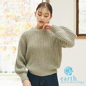 ❖ Spring ❖ 蓬鬆感粗針織上衣 - earth music&ecology