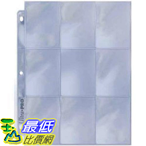 [美國直購] 神奇寶貝 精靈寶可夢周邊 Ultra Pro 25/9 Pocket Page Protectors 紙牌收納套