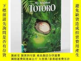 二手書博民逛書店宮崎駿:龍貓(明信片30張)英文原版罕見My Neighbor Totoro: 30 Postcards 卡片書奇