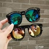 兒童太陽鏡時尚眼鏡男童女童墨鏡小孩防紫外線眼鏡寶寶遮陽鏡 伊芙莎