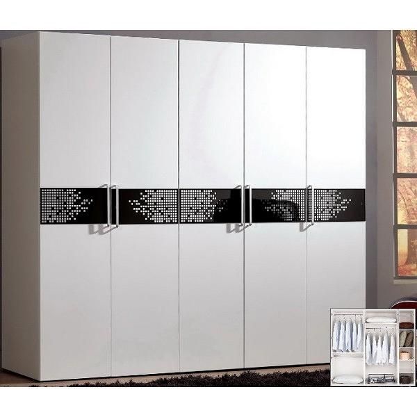 衣櫃 衣櫥 MK-654-1 波爾卡6.8尺組合衣櫃(全組) 【大眾家居舘】