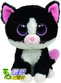 [104美國直購] Ty 毛絨玩具 36038 Ty Beanie Boos - Pepper the Cat 貓咪 玩偶