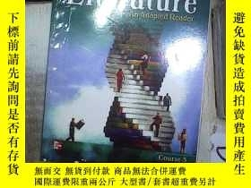 二手書博民逛書店JAMESTOWN罕見EDUCATION LITERATURE AN ADAPLTED READER COURSE