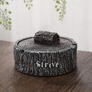 煙灰缸創意個性潮流時尚帶蓋煙灰缸家用客廳臥室大號復古煙缸北歐 小明同學