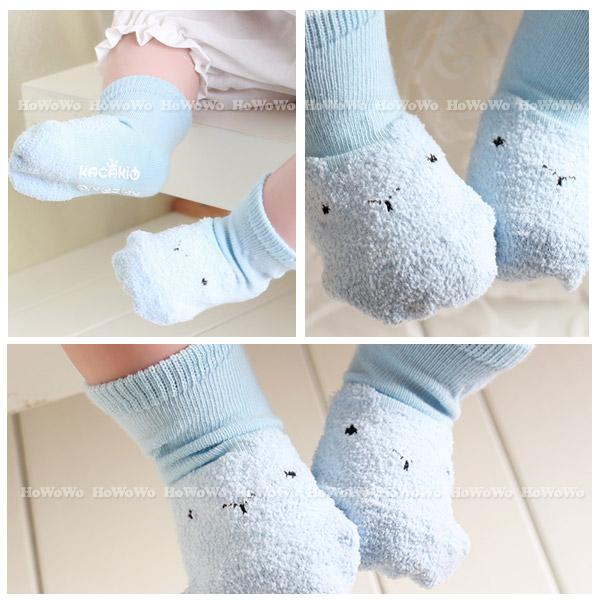 童襪 寶寶襪  卡通素面短襪 嬰兒襪 止滑襪 0-4歲 CA1753 好娃娃