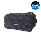 【KAVU】休閒收納包 Grizzly Kit 9060 黑色等高線 / 城市綠洲 (配件包、工具包、美國品牌)