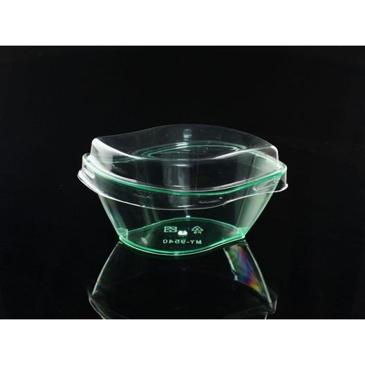 10入 附蓋 100cc 樹葉造型 奶酪杯【G9540】提拉米蘇杯 試飲杯 塑膠杯 布丁杯 布蕾 果凍 包裝 慕斯