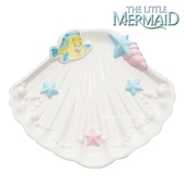 日本限定 迪士尼公主系列 小美人魚 比目魚 貝殼造型 肥皂盤 / 置物盤 / 飾品盤