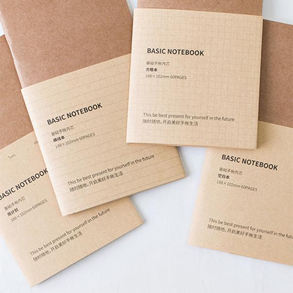【BlueCat】BASIC紙墨生活牛皮紙旅行計劃計畫行程記事本/筆記本