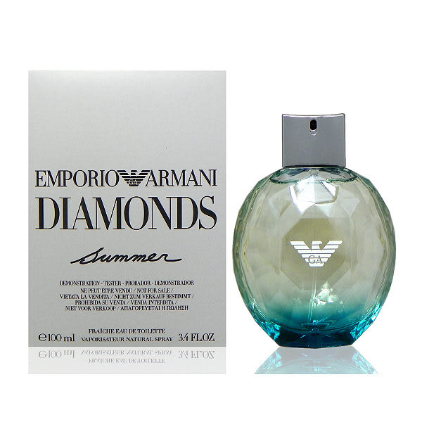 Giorgio Armani 水藍寶石淡香水 100nl Tester 包裝