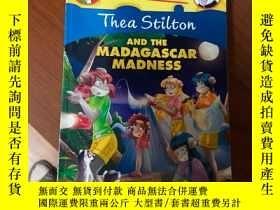 二手書博民逛書店Geronimo罕見Stilton thea Stilton and the Madagascar Madness