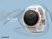 【時間道】GARMIN -預購- fenix® 5S 輕量美型複合式戶外GPS智能腕錶-藍寶石玫瑰金 免運費