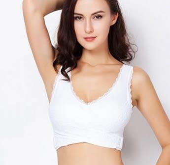 背心式聚攏性感運動無鋼圈薄款胸罩-ting0013