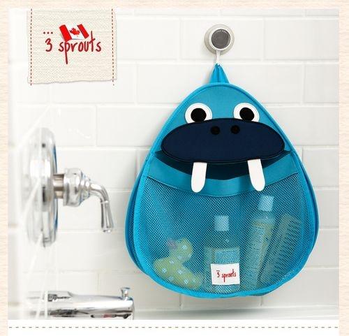 加拿大 3 Sprouts 浴室收納袋-小海象[衛立兒生活館]