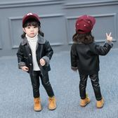 男女寶寶冬季加絨外套新款韓版女童1-3歲嬰兒短款夾克小女孩皮衣 CY潮流站