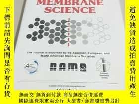 二手書博民逛書店【外文雜誌】罕見Journal of Membrane Science 2016 1. VOL.498 膜科學雜誌