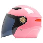 全館83折 機車電瓶電動車頭盔男女防曬夏四季保暖半覆式安全帽通用半盔