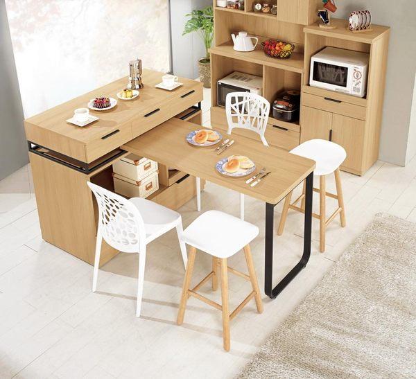 8號店鋪 森寶藝品傢俱 a-01 品味生活 餐廳系列 913-2 達拉斯4尺中島型收納櫃