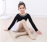 舞蹈襪兒童舞蹈襪女童練功薄款夏季春秋寶寶白色黑色絲襪跳舞打底連褲襪618購