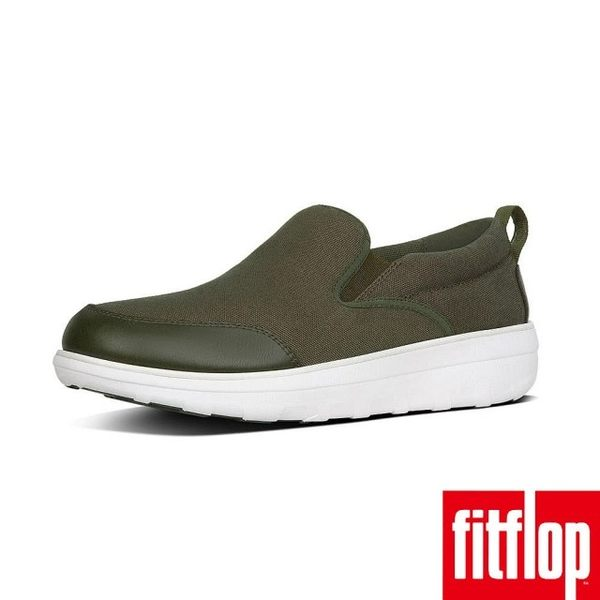 【FitFlop】LOAFF CANVAS SKATES(迷彩綠)