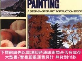 二手書博民逛書店Acrylic罕見Painting: A Step-By-Step Instruction Book-亞克力繪畫: