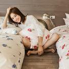 床包被套組 / 雙人【玫果雪酪-兩色可選】含兩件枕套,100%精梳棉,戀家小舖台灣製