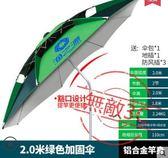 釣魚傘2.2/2.4米萬向防雨戶外魚傘垂釣傘jy遮陽傘漁具傘釣傘【1件免運好康八九折】