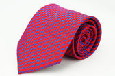 【Alpaca】紅底斜藍紋領帶