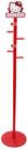 【震撼精品百貨】Hello Kitty 凱蒂貓~KITTY 木製衣帽架-紅色-KT臉造型