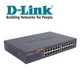 ◤全新品 含稅 免運費◢ D-Link DES-1024D 24埠、10/100Mbps桌上型乙太網路交換器