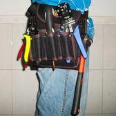 電工工具包腰包弱電施工包水電監控安裝多功能五金工具掛包帆布袋    電購3C