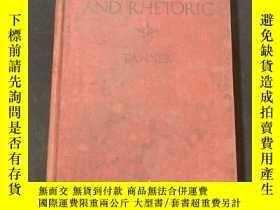 二手書博民逛書店1922年英文罕見Composition and rhetoricY258675 出版1922