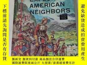 二手書博民逛書店exploring罕見american neighbors(探索