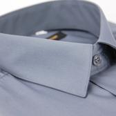 【金‧安德森】灰色基本款長袖襯衫