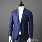 西裝男 福利強貨 舒適彈性 外貿男裝剪標商務休閑修身西服西裝外套單西潮 布衣潮人