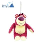 (現貨&樂園實拍) 東京迪士尼限定 玩具總動員 熊抱哥 草莓香 珠鍊別針 吊飾玩偶娃娃