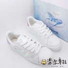 【樂樂童鞋】【台灣製現貨】冰雪奇緣親子休閒鞋-白色 F035 - 現貨 台灣製 親子鞋 女童鞋 大童鞋
